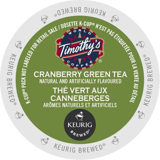 Timothy's Cranberry Twist Green Tea K-Cup Portion Pack