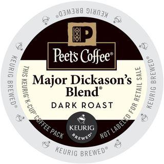Peet's Coffee Major Dickason's Blend K-Cup Portion Pack
