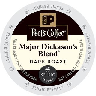 Peet's Coffee Major Dickason's Blend K-Cup Portion Pack