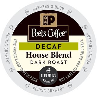 Peet's Coffee Decaf House Blend K-Cup Portion Pack