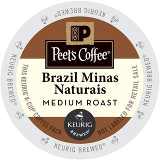 Peet's Coffee Brazil Minas Naturals K-Cup Portion Pack