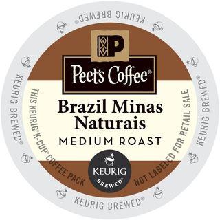 Peet's Coffee Brazil Minas Naturals K-Cup Portion Pack
