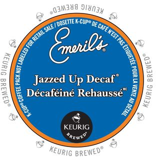 Emeril's Jazzed Up Decaf Coffee K-Cup Portion Pack