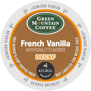 Green Mountain French Vanilla Decaf Coffee K-Cup Portion Pack
