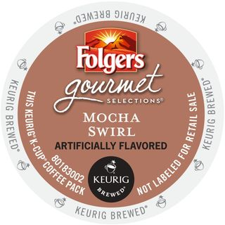 Folgers Gourmet Selections Mocha Swirl K-Cup Portion Pack