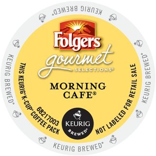 Folgers Gourmet Selections Morning Cafe Coffee K-Cup Portion Pack