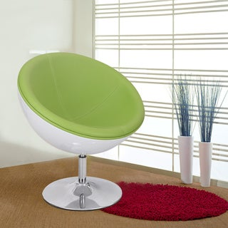 Adeco 360-Swivel Retro Color Series Egg-Shape Chair