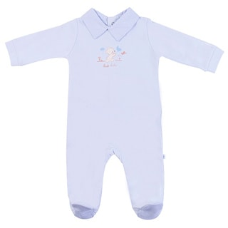 Briobebe Boys' Teddy Bear Print Jumpsuit