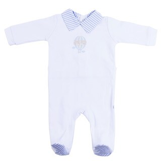 Briobebe Boys' Blue Cotton Hot Air Balloon Jumpsuit (2 options available)