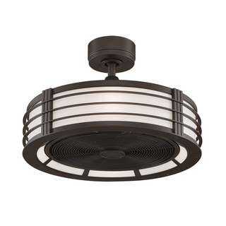 Fanimation Beckwith Oil-rubbed Bronze 23-inch 4-light Ceiling Fan