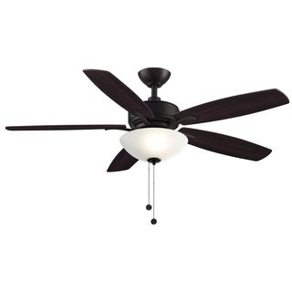 Aire Deluxe - 52 inch Ceiling Fan with Light Kit