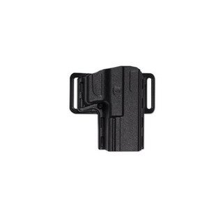 Uncle Mikes Reflex Open Top Holster, Black Size 09 Left Hand