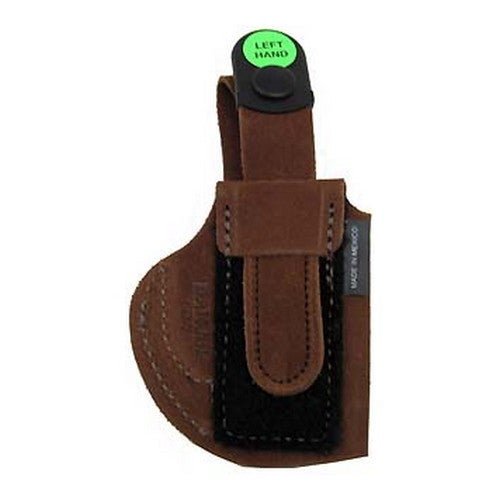 Bianchi 6D Deluxe Waistband Holster Natural Suede, Size 07, Left Hand