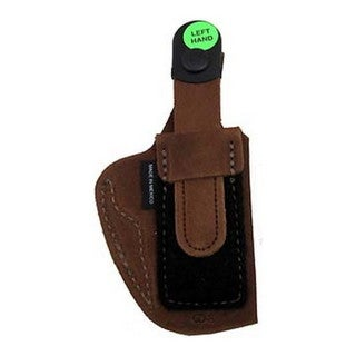 Bianchi 6D Deluxe Waistband Holster Natural Suede, Size 08, Left Hand