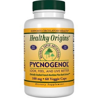Healthy Origins Pycnogenol 100 mg (60 Veggie Capsules)