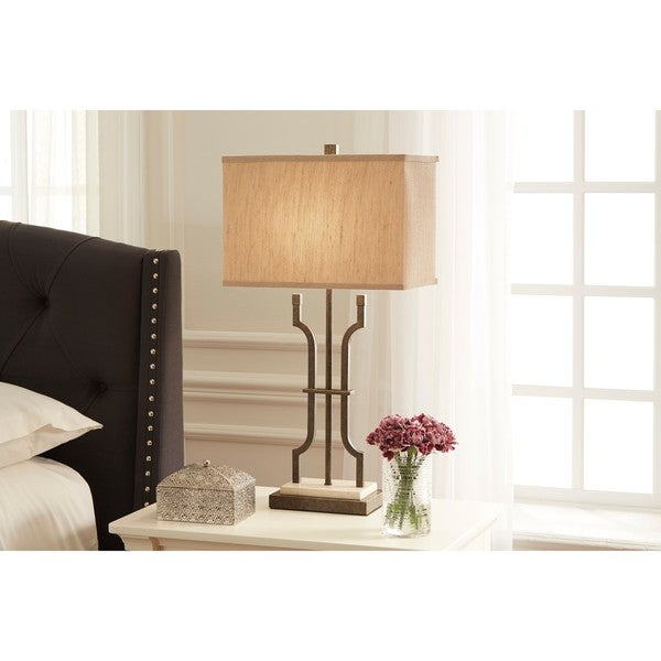 Malik Brown 31 Inch Metal Table Lamp