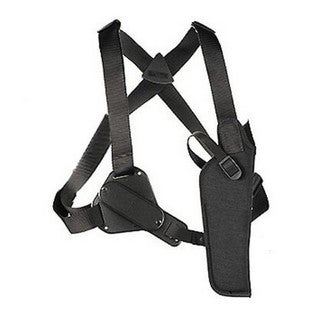 Uncle Mikes Sidekick Vertical Shoulder Holster Cordura Black Size 5, Right Hand