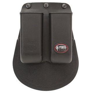 Fobus Double Mag Pouch Single Stack .22/.380/.32 Paddle