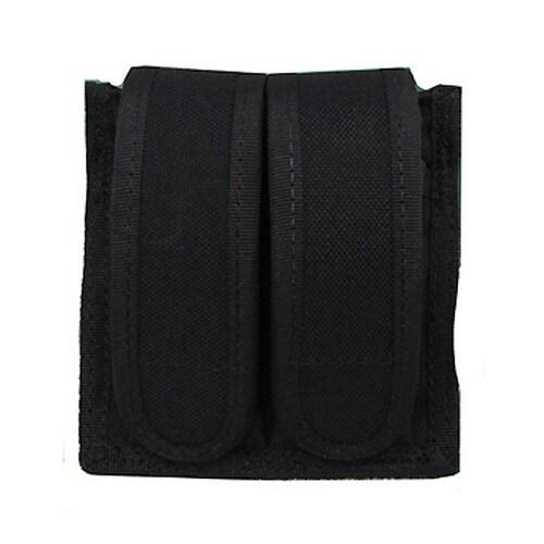 Uncle Mikes Cordura Magazine Case Universal Double Pistol -Velcro Black