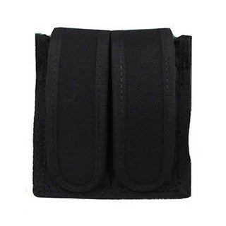 Uncle Mikes Cordura Magazine Case Universal Double Pistol -Velcro Black
