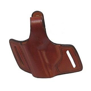 Bianchi 5 Black Widow Leather Holster Plain Tan, Size 10, Left Hand
