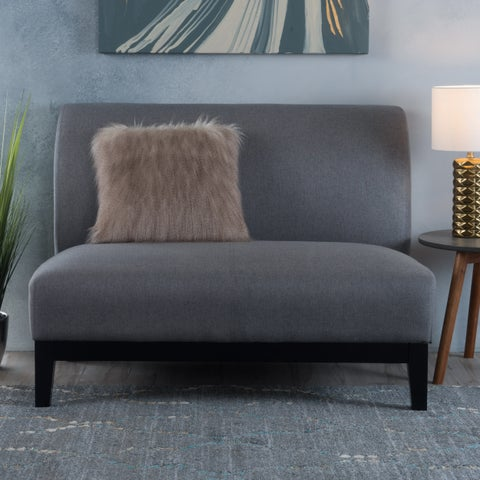 Darcy Fabric Loveseat Settee Sofa by Christopher Knight Home