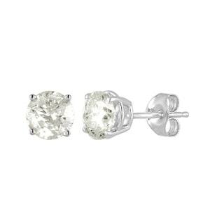 1/4ct Diamond Stud Earrings in 10k White Gold