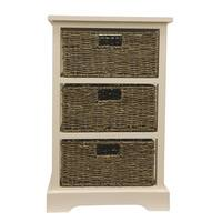 3 Basket Storage Chest