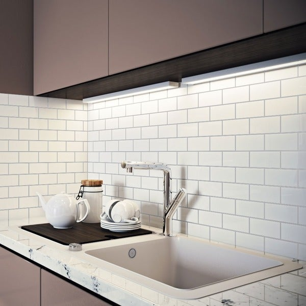 Giorbello White Porcelain 2x4-inch Subway Tiles (16.5 Sq Ft)
