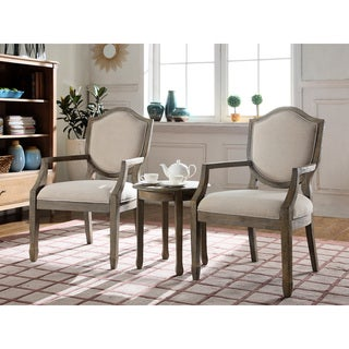 Link to Best Master Furniture 3 Pcs Accent Arm Chair Set Similar Items in Accent Chairs