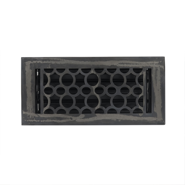 Unikwities 4X10 Heavy Cast Iron Floor Register in Industr...