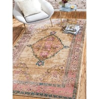 Unique Loom Medallion Stockholm Area Rug - 7' 0 x 10' 0