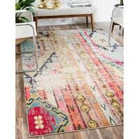 Unique Loom Yosemite Sedona Area Rug - multi - 7' X 10'
