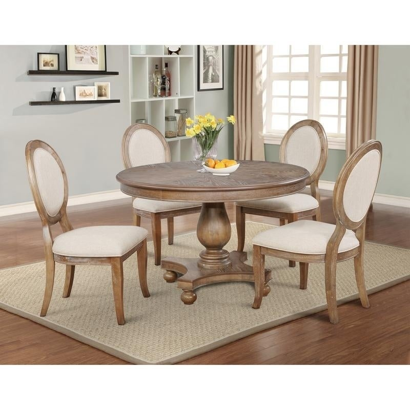 Powell Lenoir 5-piece Dining Set