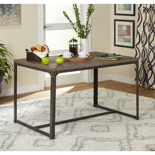 Simple Living Scholar Vintage Industrial Dining Table