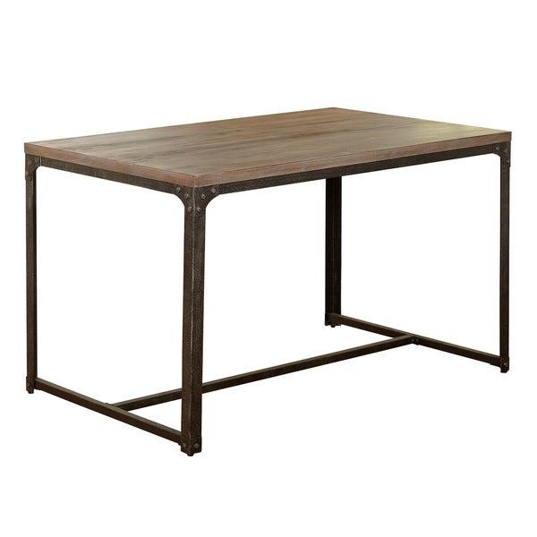 industrial dining furniture. simple living scholar vintage industrial dining table free shipping today overstockcom 20818908 furniture