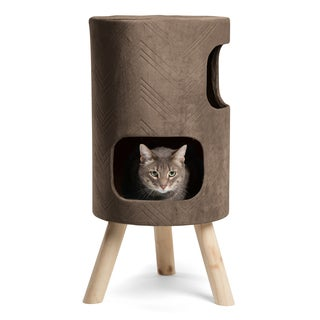 Modern Kitty by Sheri Satellite Cat Tree with Scratching Surface