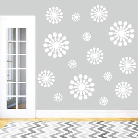 Abstract Circles Wall Decal