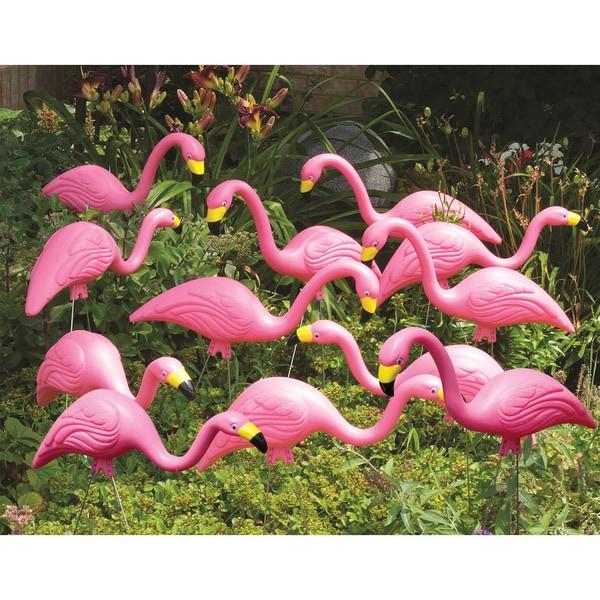 Shop Bloem Pink Flamingo Garden Yard Stake G2 12 Pack