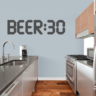 Beer 30 Wall Decal (More options available)