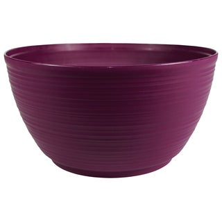 Bloem Dura Cotta Plant Bowl, 15 inches, Passion Fruit