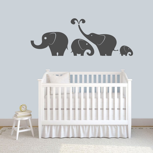 shop large elephant wall decal - on sale - free shipping on orders