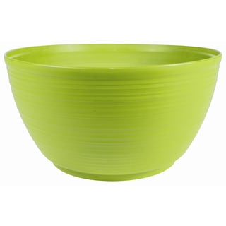Bloem Dura Cotta Plant Bowl, 15-inch, Honey Dew