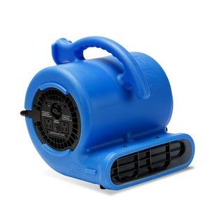 1/4 HP 900 CFM 9-inch Air Mover Carpet Dryer Floor Fan for Home, Retail, Plumbing, and Water Damage