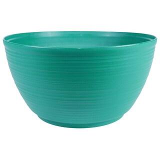 Bloem Dura Cotta Plant Bowl, 12-inch, Calypso