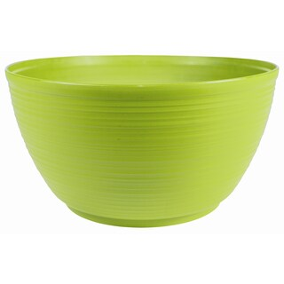 Bloem Dura Cotta Plant Bowl, 12 inches, Honey Dew