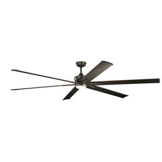 Kichler Lighting Szeplo Patio Collection 96-inch Olde Bronze LED Ceiling Fan