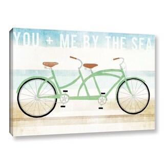 Michael Mullan's Beach Cruiser Tandem, Gallery Wrapped Canvas - multi