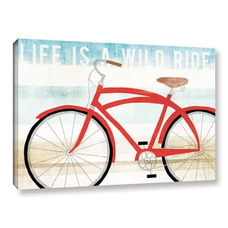 Michael Mullan's Beach Cruiser His I, Gallery Wrapped Canvas