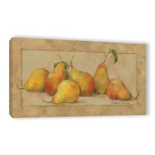 Barbara Mock's Pear Collection, Gallery Wrapped Canvas